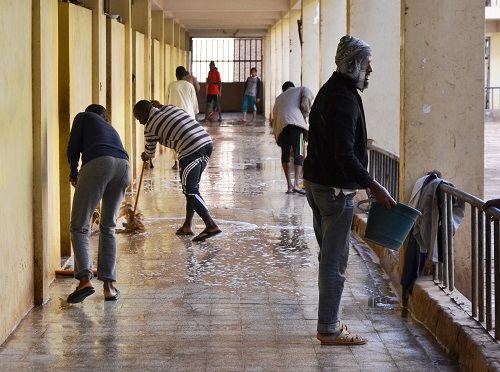 the-deanship-of-the-student-affairs-carries-out-a-campaign-of-cleanliness-in-the-various-hostel-of-the-university